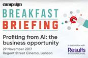Campaign Breakfast Briefing: Profiting from artificial intelligence: the business opportunity  | 29 November 2017