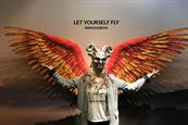 The Bronx Zoo creates pop-up featuring wings, masks and headpieces