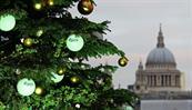 Carlsberg unveiled its beer-dispensing Christmas tree on the south Bank