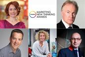 Senior marketers from Sainsbury's, Vodafone, Audi and Disney revealed as judges for New Thinking Awards 2018