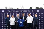 Chelsea FC unveils Three as next shirt sponsor