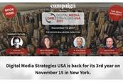 Top US media leaders to speak at Campaign's Digital Media Strategies USA 2017