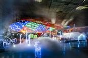 EasyJet and Luton Airport create Christmas lightshow