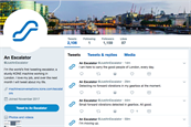 IBM Watson and Kone have given one London escalator a voice on Twitter