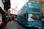 Take a look inside the Beanz Meanz Heinz bus cafe