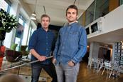 May's winners: Paul Moran and Gary McNulty creative directors, Grey London