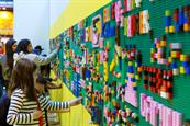 Lego Saatchi Gallery installation to feature Star Wars, Christmas and graffiti