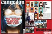 Campaign's November issue is out now