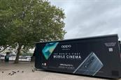 Oppo Mobile opens pop-up microcinema on London's Southbank
