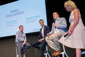 InSkin Media CCO Steve Doyle addresses the Dmexco audience
