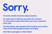 Tesco Mobile runs snarky letter of apology... on behalf of rival networks