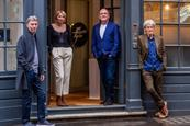 Left to right: Simon Orpin, Pippa Glucklich, Kevin Brown and Sir John Hegarty