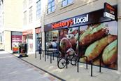 Sainsbury's rolls out Smart Shops amid slowdown in grocery sales