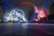 Disney creates lightsaber duel to promote Star Wars: The Last Jedi