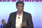 "Marc Pritchard, P&G, on Better Advertising Enabled by Media Transparency at IAB ALM (Image from <a href=""https://www.youtube.com/watch?v=NEUCOsphoI0"">IAB - Interactive Advertising Bureau</a>"