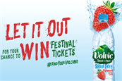 Volvic launches 'Let It Out' campaign with sampling activity