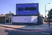 """O2 """"Go green"""" by The Marketing Store"""