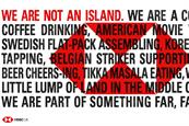 """HSBC """"We are not an island"""" by J Walter Thompson London"""