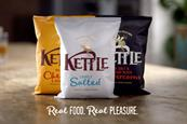 "Kettle Chips ""Real food. Real pleasure"" by Joint"