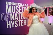 "Gawk at nuptial badassery with Doner LA's immersive museum for WE tv's ""Bridezillas"""