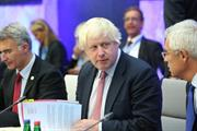"""I creep up behind people in my rubber shoes"" - leadership insights from Boris Johnson"