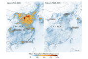 Coronavirus: the pandemic's impact on air pollution levels in charts
