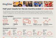 B&Q see half year sales success during coronavirus crisis driven by ecommerce