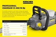 Kärcher launches battery-powered professional landscape management range