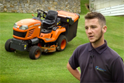 Why Dewi Jones can't get enough of the Kubota G23 ride-on-mower