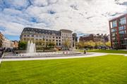 Improved public realm to deter anti-social behaviour at Manchester's Piccadilly Gardens