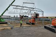 Farplants' Fleurie nursery begins work on new structures