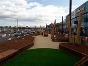 Gavin Jones installs Macgregor Smith landscape design at Teesside retail park