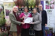 Bransford Webbs and Barnsfold are Squire's Garden Centres nursery suppliers of the year