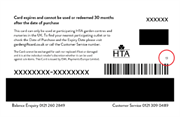 HTA warns garden centres to check gift vouchers for deteriorating stripes