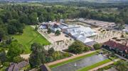 RHS Wisley Welcome Building £22m development opens with 100-seater restaurant and enhanced plant centre