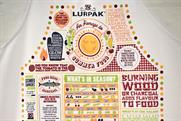 Lurpak: designer aprons offered in brand's Facebook competition