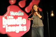 Huggies: launching comedy-themed online campaign