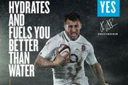 Lucozade: backs Six Nations rugby