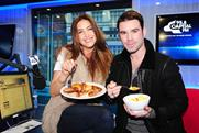 Lisa Snowdon and Dave Berry: 95.8 Capital FM's breakfast show co-hosts
