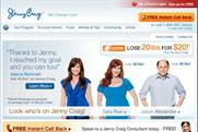 Jenny Craig: coming to the UK and Europe