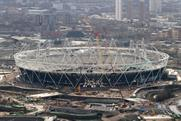 London 2012: reviving branded 'wrap' around the stadium