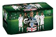 Carlsberg: England boss to feature on packaging