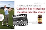 Solgar Vitamins: Sir Geoff Hurst fronts campiagn