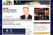 Berry Bros & Rudd: sponsors Jazz FM homepage