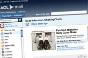 AOL: relaunches web mail service