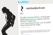 Twitter: Michael Jackson account has 30,000 followers