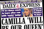 Daily Express: editor Peter Hill steps down