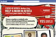 Amref: BBH creates Facebook campaign for the African charity