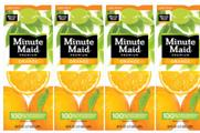 Coca-Cola rolls out global redesign of juice brands to reflect Minute Maid packaging