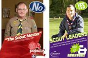 Phones4U ad and the Scouts' response